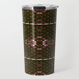 Chrome rhombuses Travel Mug