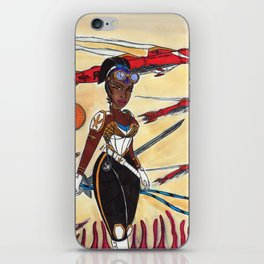 The Liberator and the Airships iPhone Skin