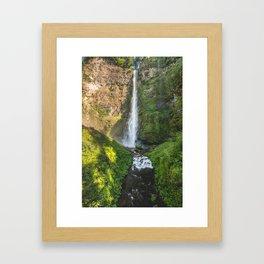 Multnomah Falls Oregon Framed Art Print