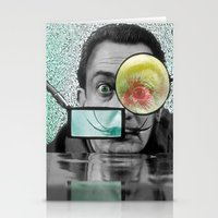 dali Stationery Cards featuring DALI by Marian - Claudiu Bortan