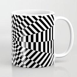 Optical Strpes Coffee Mug