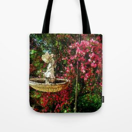 Garden Angel Tote Bag