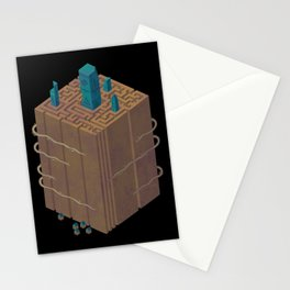 Within the Maze Stationery Cards