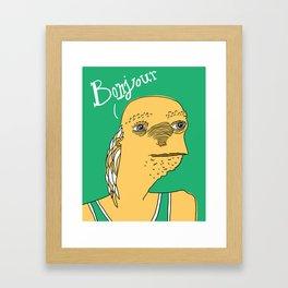 L'Affreux Framed Art Print