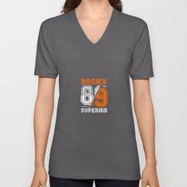 Bronx 89 Superior Unisex V-Neck