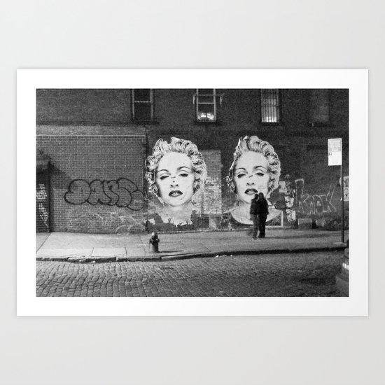 NYC grit Art Print