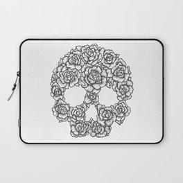 Skull of Roses Laptop Sleeve