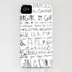 Gandhi iPhone (4, 4s) Slim Case
