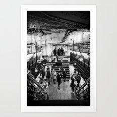 Underground No. 8 Art Print