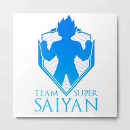 Team Super Saiyan Metal Print