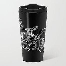 Black Indian 1948 Travel Mug