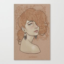 You'll never beat James Jean Canvas Print