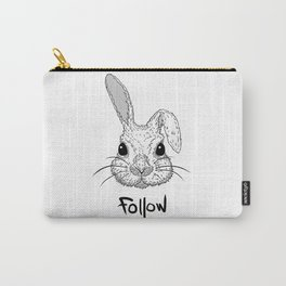 White Rabbit Carry-All Pouch
