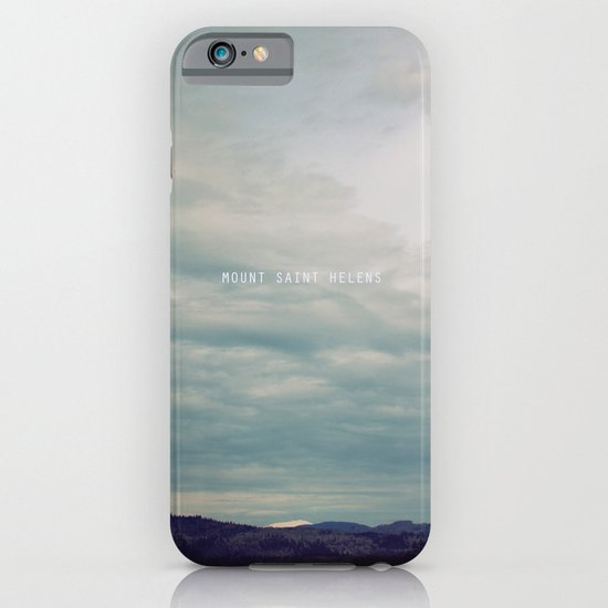 Mount St. Helens iPhone & iPod Case