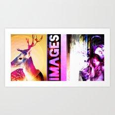 IMAGES A Random Crazy Poster Art Print