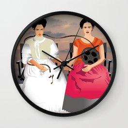 Dos Fridas. Wall Clock