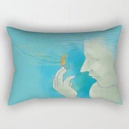 Lend Me Your Mind Rectangular Pillow