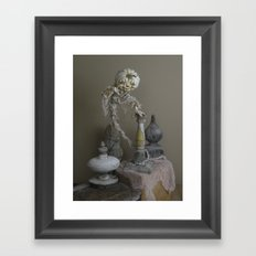 Rucus Studio Halloween Ghostly Haunt Framed Art Print