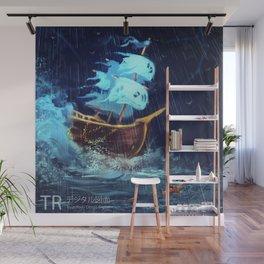 Ghost ship Caleuche Wall Mural