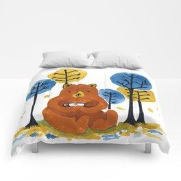 Coffee Bear Comforters