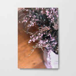 Heather Sun Metal Print