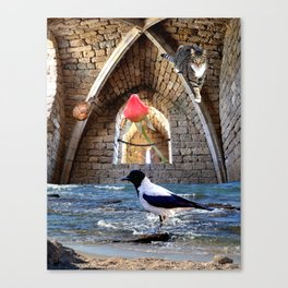 Guardians of the Rose Canvas Print