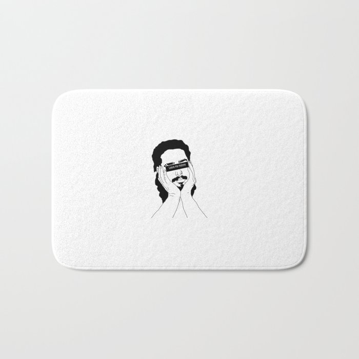 leave me malone Bath Mat