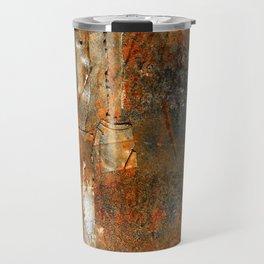 Rust Texture 72 Travel Mug