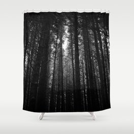 Norwegian woods - Bergen, Hordaland Shower Curtain