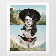 Collage #13 (Landslide) Art Print