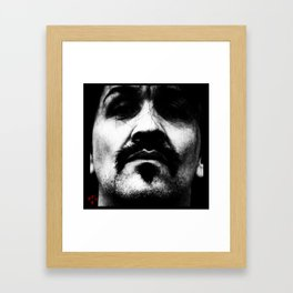 Don't Think Twice Framed Art Print