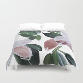 Gardening Book Duvet Cover