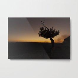 Sunset Repose Metal Print