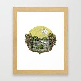 Swampy Framed Art Print