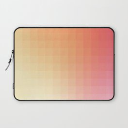 Lumen, Pink and Orange Light Laptop Sleeve