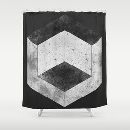 Hex Shower Curtain