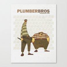Plumber Bros. Canvas Print