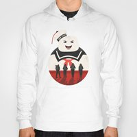 ghostbusters Hoodies featuring Ghostbusters by Bill Pyle