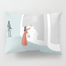 Banned From Literacy Pillow Sham