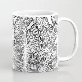 Enveloping Lines Coffee Mug