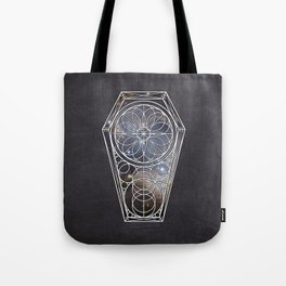 Sacred Geometry Dreamstate - Galaxy Tote Bag