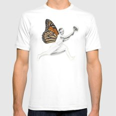 Lili Mens Fitted Tee White MEDIUM