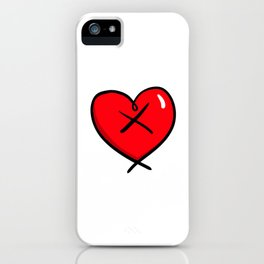 EdgyHart iPhone Case