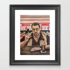Walter / The Big Lebowski / John Goodman Framed Art Print