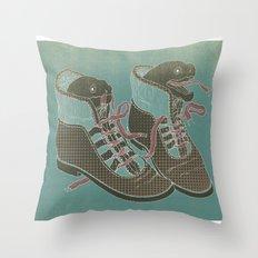 Moray Heels Throw Pillow