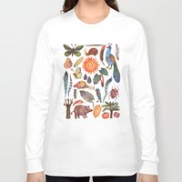 tropical Long Sleeve T-shirts featuring Tropical by VLAD stankovic