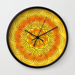 Mandala - Selbstachtung Wall Clock