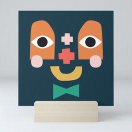 Collage Character No1 Mini Art Print