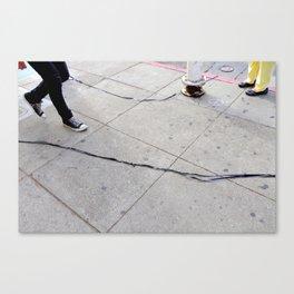 Caught On Tape Canvas Print