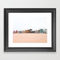 Dreams in Venice, California Framed Art Print